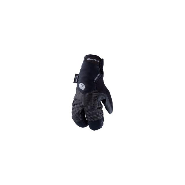 Sugoi - Zap Subzero Lobster Cycling Glove - Black In Size