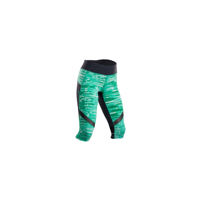 Sugoi - Prism Run Capri - Women's - Light Jade/Ice Blue In Size