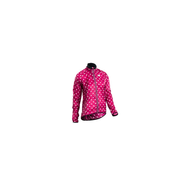 Sugoi - RS Cycling Jacket - Women's - Sangria/Pale Vista Dot In Size