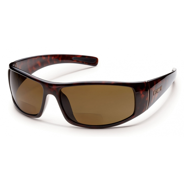 Suncloud - Atlas +2.00 - Brown Polarized Polycarbonate