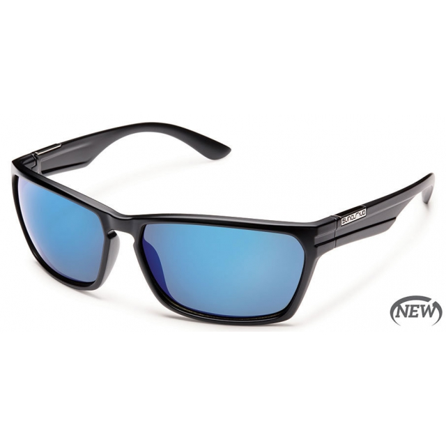 Suncloud - Cutout  - Blue Mirror Polarized Polycarbonate