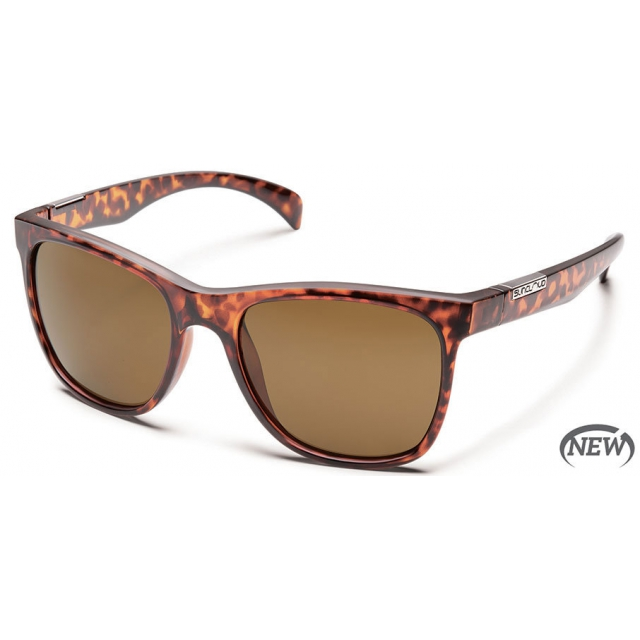 Suncloud - Doubletake  - Brown Polarized Polycarbonate