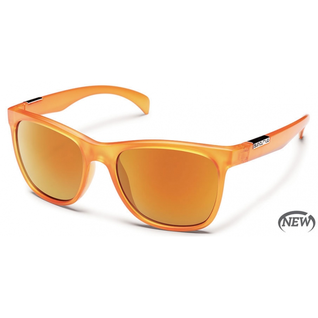 Suncloud - Doubletake  - Orange Mirror Polarized Polycarbonate