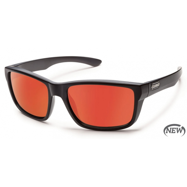 Suncloud - Mayor  - Red Mirror Polarized Polycarbonate