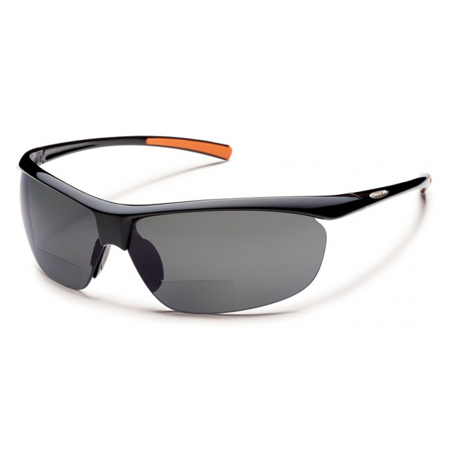 Suncloud - Zephyr +2.00 - Gray Polarized Polycarbonate