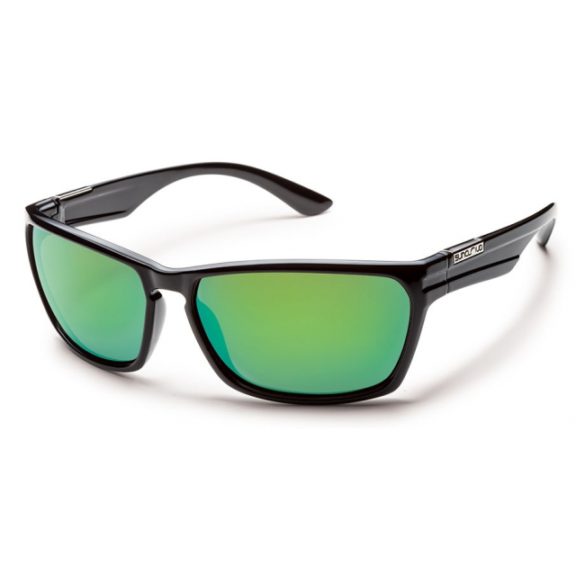 Suncloud - Cutout - Green Mirror Polarized Polycarbonate