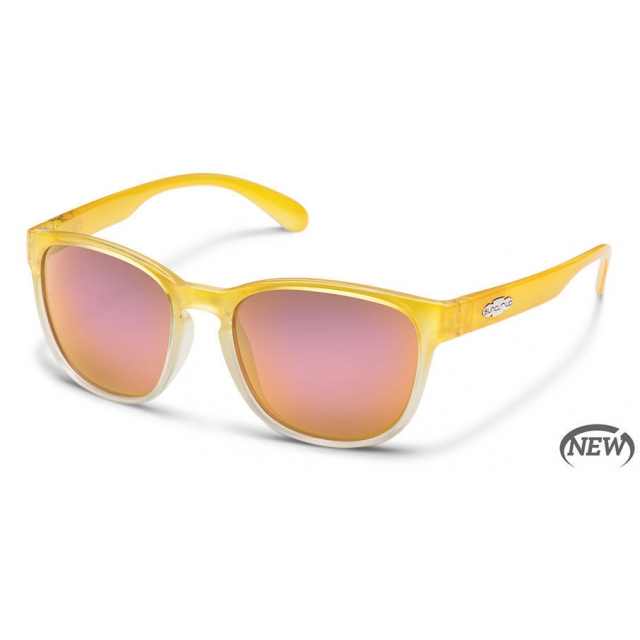 Suncloud - Loveseat - Pink Mirror Polarized Polycarbonate