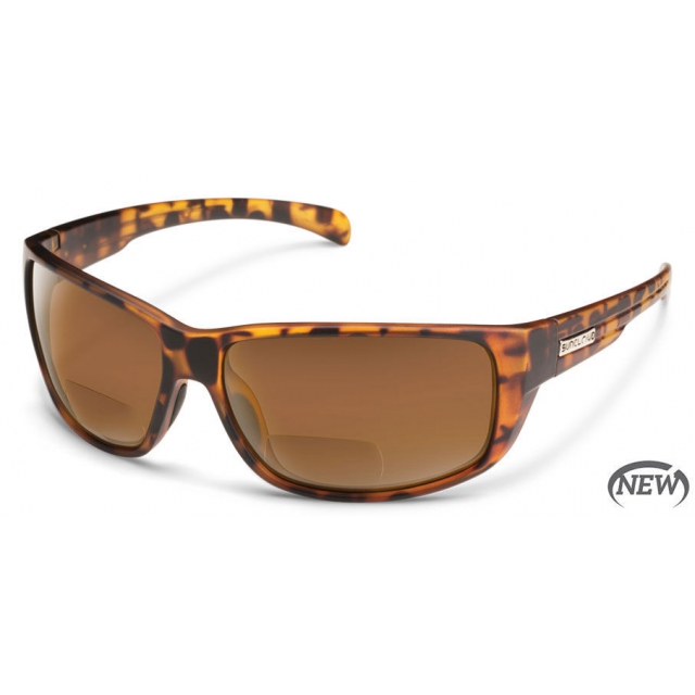 Suncloud - Milestone - Brown Polarized Polycarbonate +2.50