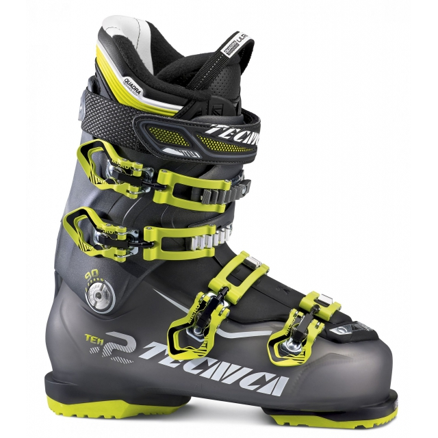 Tecnica - Ten.2 90 Ski Boot Men's, Black Tr/Anthracite, 25.5