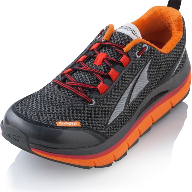 Altra - Olympus Running Shoe Mens - Gunmetal/Red 10.5