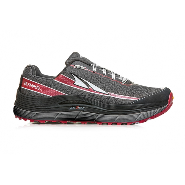 Altra - - Olympus 2 Mens - 10 - Pewter/Racing Red
