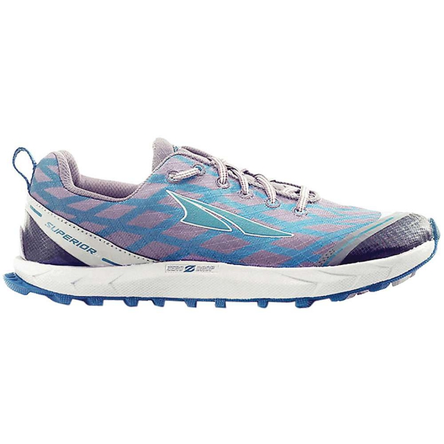 Altra - Superior 2.0 Running Shoes Womens - Pewter / Atlantic 10