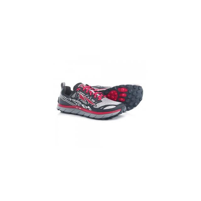 Altra - Lone Peak 3.0 Running Shoe Men's, Red/Black, 10