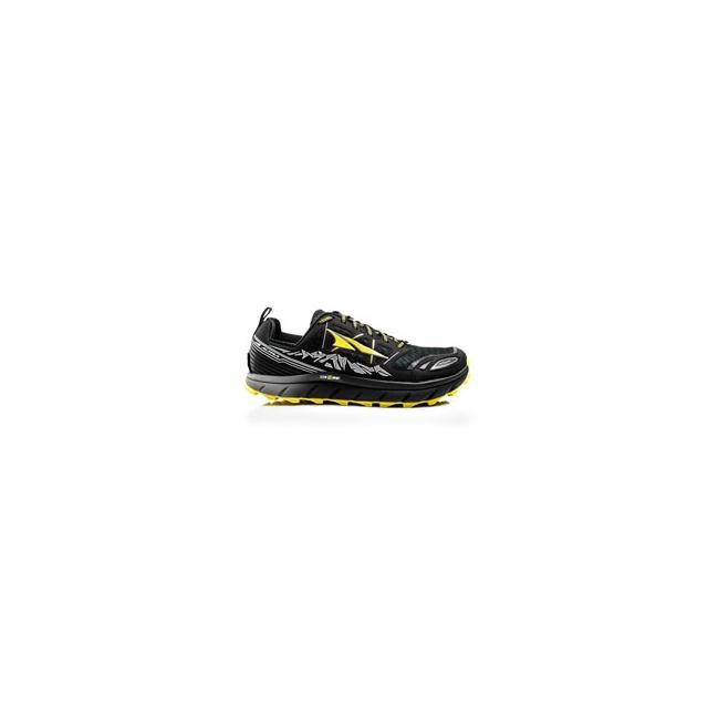 Altra - Lone Peak 3.0 Neoshell Trail Running Shoe - Men's - Black/Yellow In Size