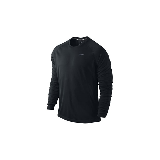 Nike - Nike Dri-Fit Miler Long Sleeve Shirt - Men's-S