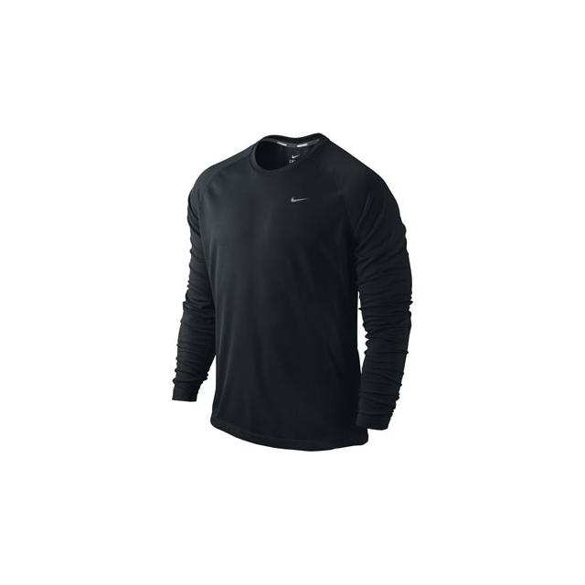 Nike - Nike Dri-Fit Miler Long Sleeve Shirt - Men's-S
