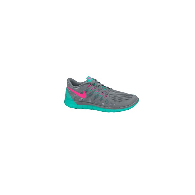 Nike - Free 5.0 - Women's-Grill/Blue River-9.5