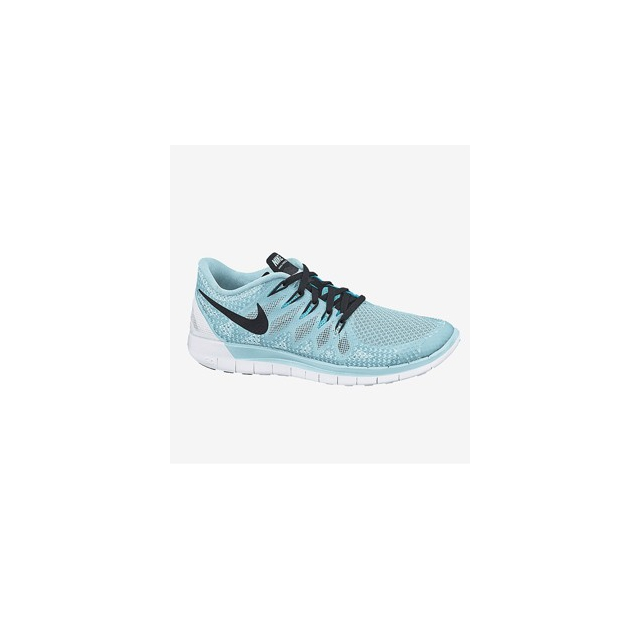 Nike - Free 5.0 - Women's-Distance Blue/Reflective Silver-6
