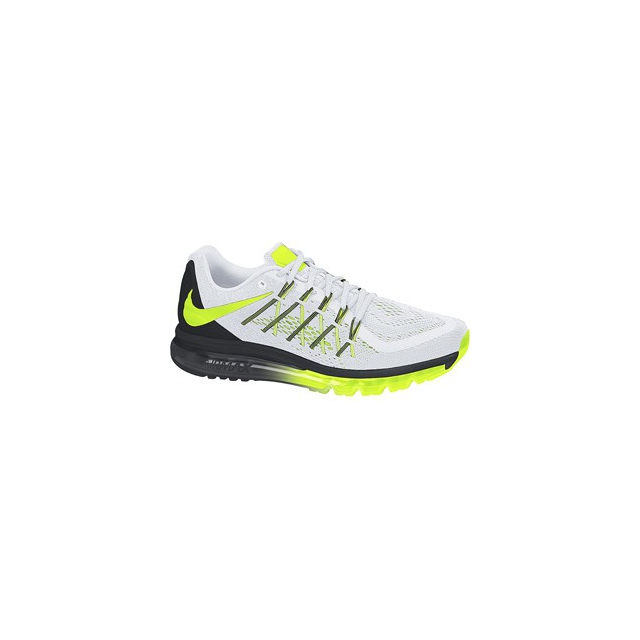 Nike - Airmax 2015 - Men's-White/Anthracite/Pro Platinum-7.5