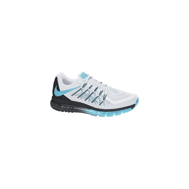 Nike - Airmax 2015 - Women's-White/Black/Clearwater-9