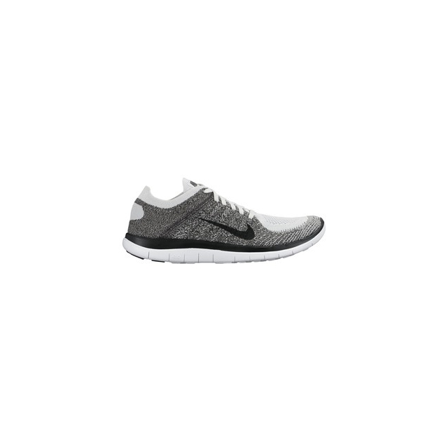 Nike - Free 4.0 Flyknit - Men's-Stealth/Pure Platinum-9