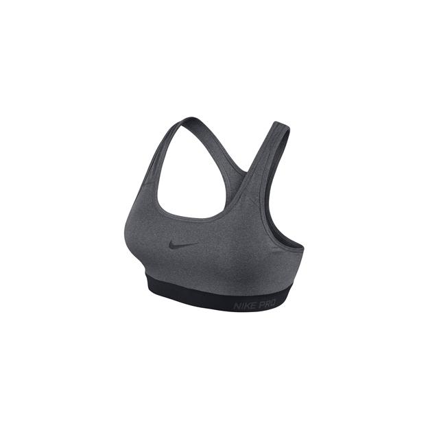 Nike - ProClass Padded Bra - Women's-Carbon Heather-M