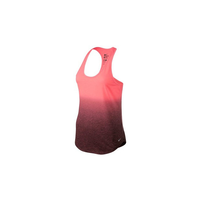 Nike - Dip Dye Tank - Women's-Sunblush/Black/Cool Grey-M