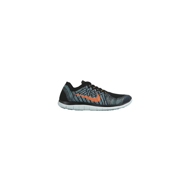 Nike - Free 4.0 Flyknit Running Shoe - Men's-Black/Black-13