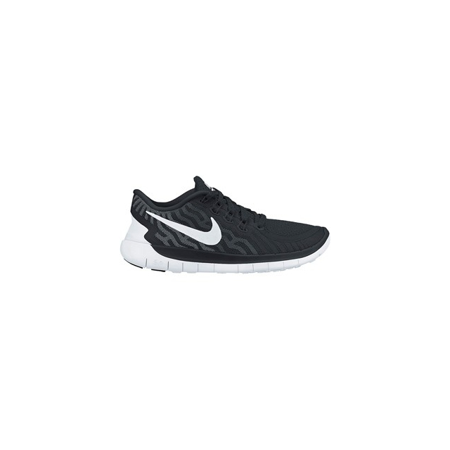 Nike - Free 5.0 Running Shoe - Men's-Black/Black-11.5