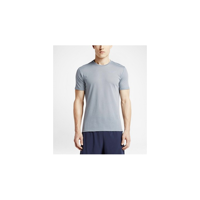 Nike - Tailwind Tshirt- Men's-Grey-L