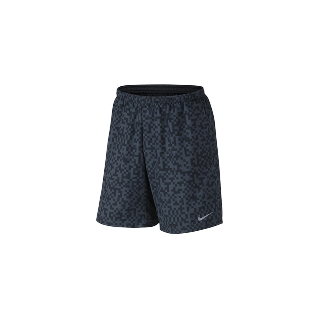 Nike - Mega Pixel Distance Shorts - Men's-Black-L