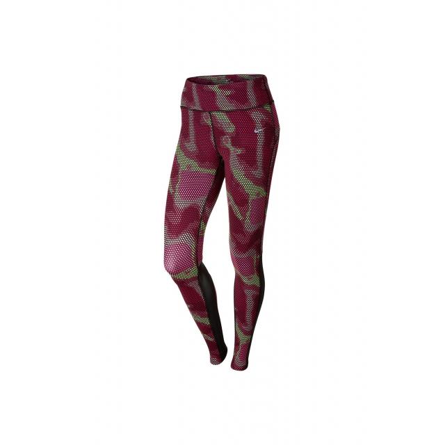 Nike - Women's W Epic Run Printed Tight - 644956-667 XS