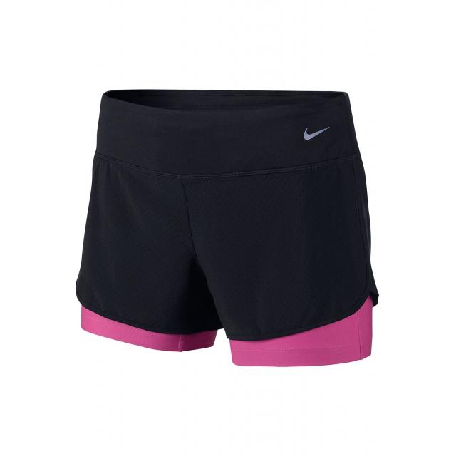Nike - Women's W Perf Rival 2n1 Short - 645468-010 XS