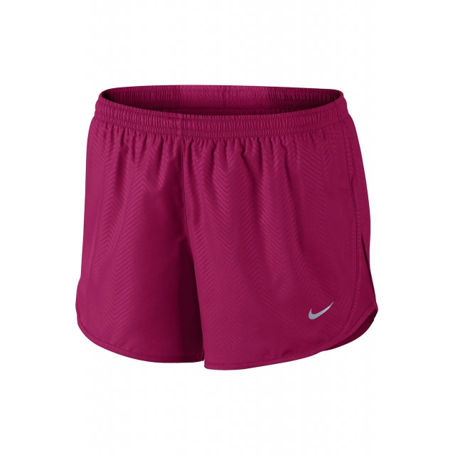 Nike - Women's W Mod Embossed Tempo Short - 645561-644 XL