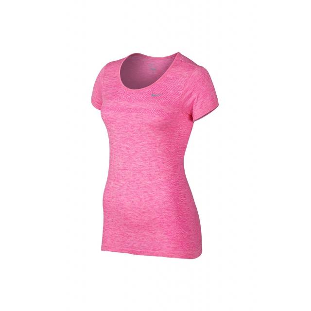 Nike - Women's W Dri-Fit Knit SS - 644680-667 XS