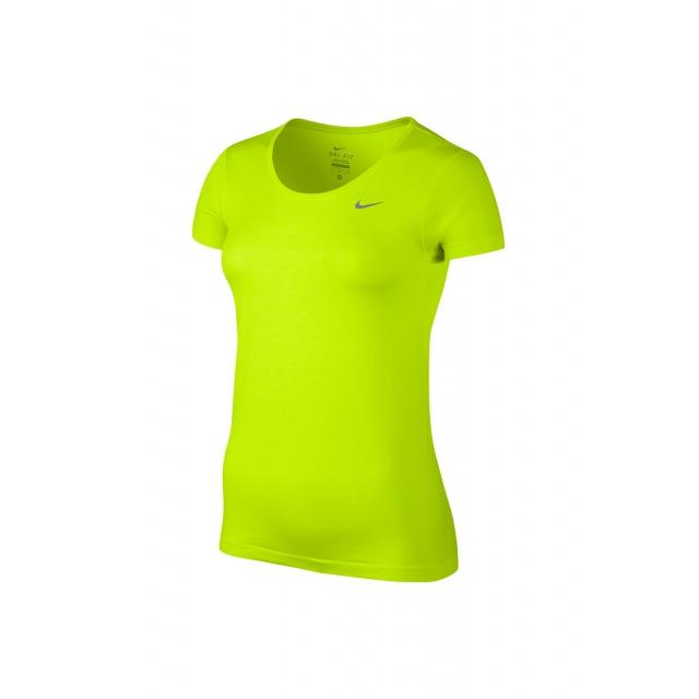 Nike - W Dri-Fit Knit SS - 644680-702 M