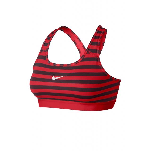 Nike - Women's W Pro Classic Stripe Bra - 629154-660 XS