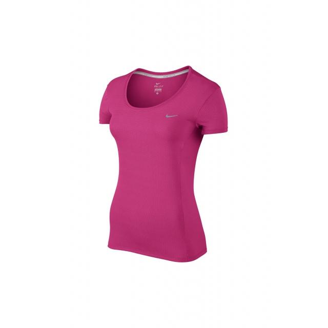 Nike - W DriFit Contour SS - 644694-616 S