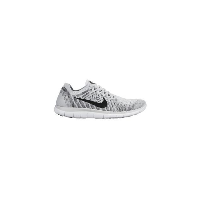 Nike - Free 4.0 Flyknit Running Shoe - Men's-White-11.5