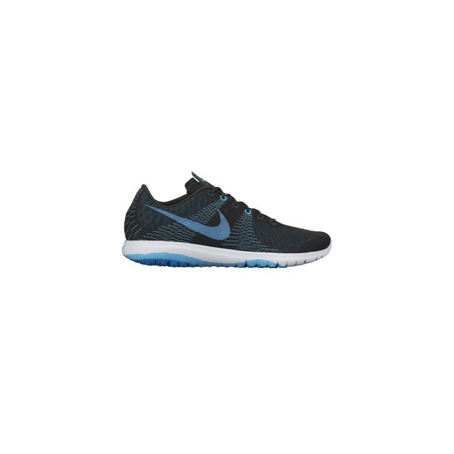 Nike - Flex Fury Running Shoe - Men's-Black/Blue-12