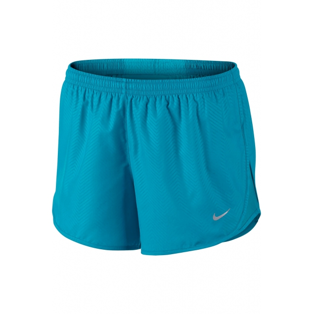 Nike - Women's W Mod Embossed Tempo Short - 645561-407 XL