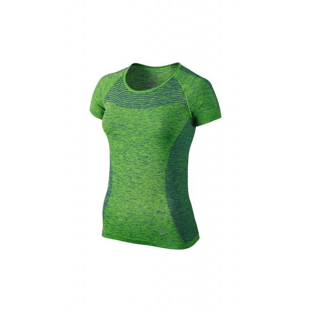 Nike - W Dri-Fit Knit SS - 718569-455