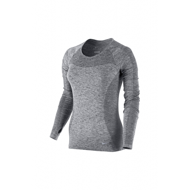 Nike - W Dri-Fit Knit LS - 718582-010
