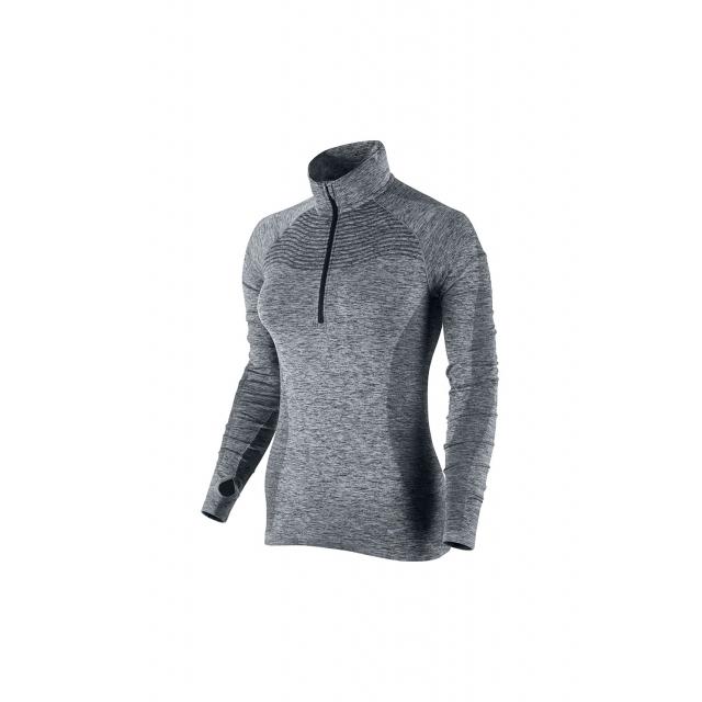 Nike - W DriFit Knit 1/2 Zip Top - 719469-010