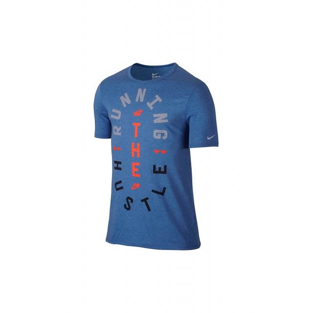 Nike - Run Hustle Tee - 776634-456