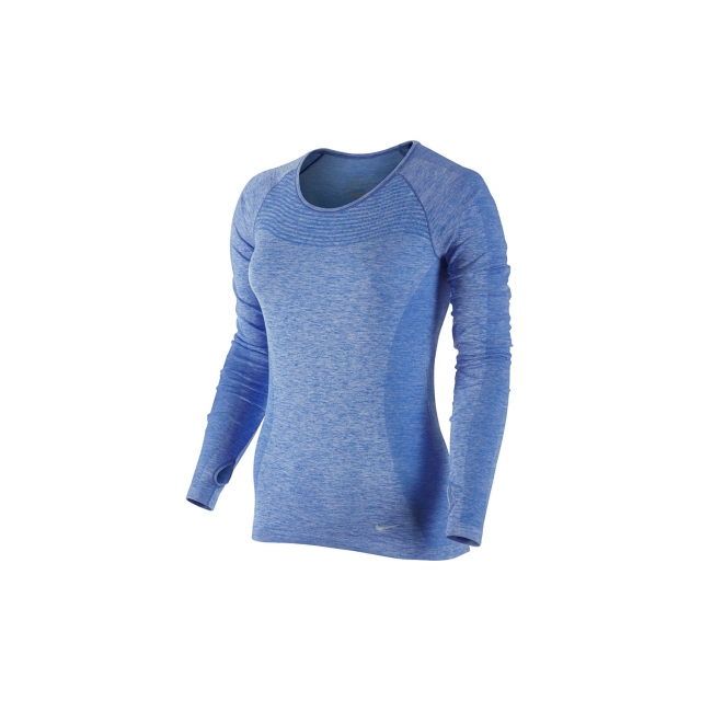 Nike - W Dri-Fit Knit LS - 718582-486 M