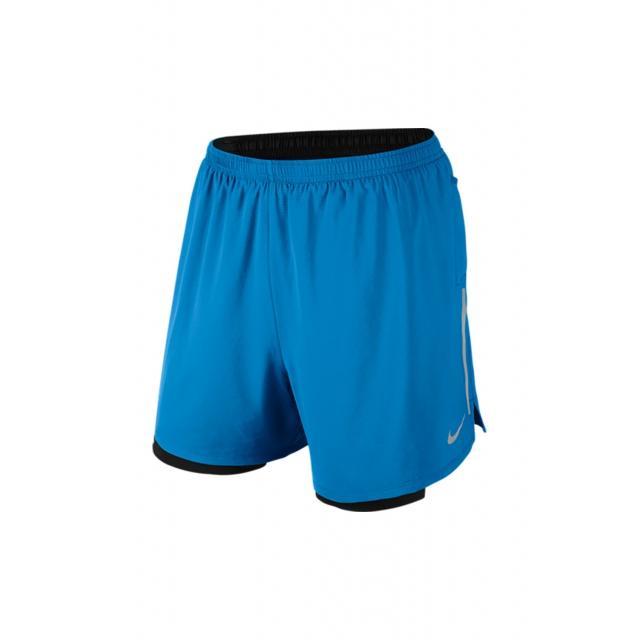 Nike - 5 Phenom 2 In 1 Short - 683215-435