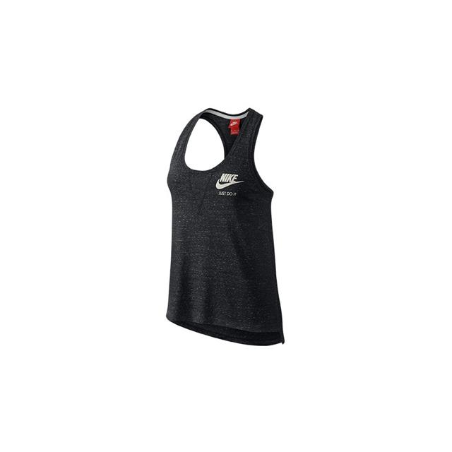 Nike - Nike Vintage Gym Tank - Women's-Black-S