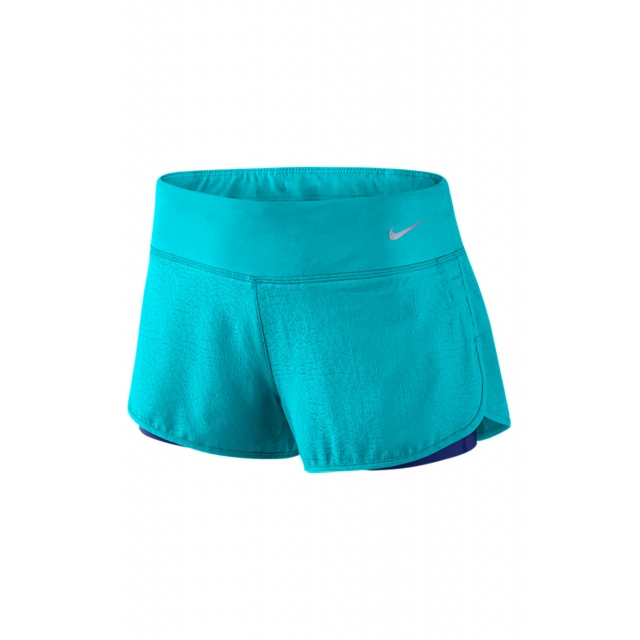 Nike - W 3 Rival Jacq 2in1 Short - 719757-418