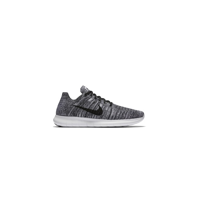 Nike - Free RN Flyknit Running Shoe - Men's-White-8